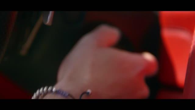 ferrari - ignition - matte image technique stock videos & royalty-free footage