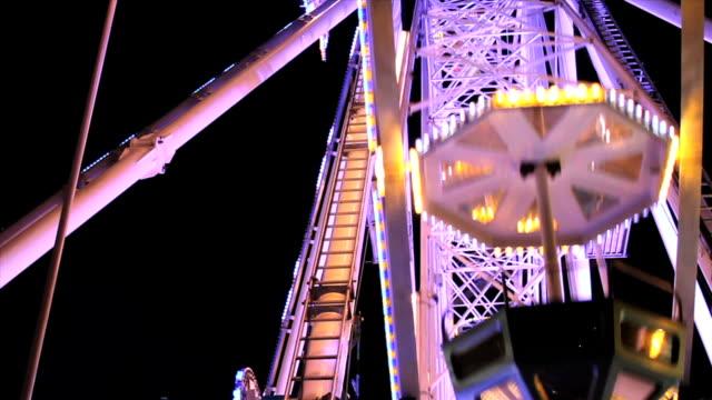 Riesenrad in Nacht