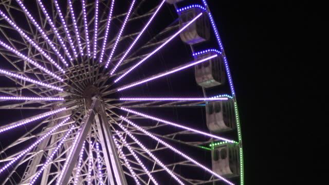 ferris wheel in cascais - cascais stock videos and b-roll footage