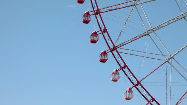 vídeos y material grabado en eventos de stock de cu ferris wheel / kasai, chiba, japan - ausencia