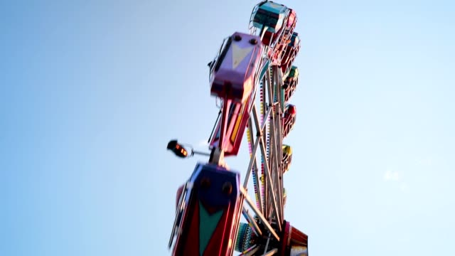 ferris wheel - traditional festival stock videos & royalty-free footage