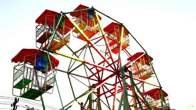 ferris wheel - agricultural fair stock videos and b-roll footage
