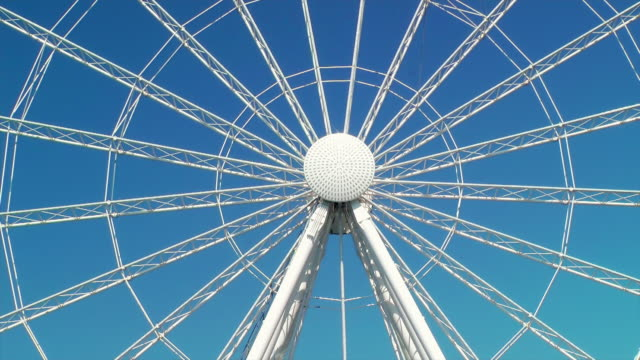 ferris wheel - big wheel stock-videos und b-roll-filmmaterial