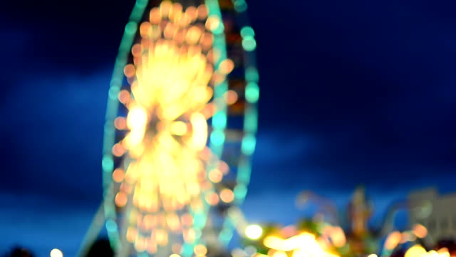 ferris wheel - ferris wheel stock videos & royalty-free footage