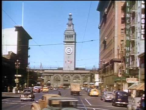 1941 SHAKY Ferry Building / San Francisco / amateur industrial