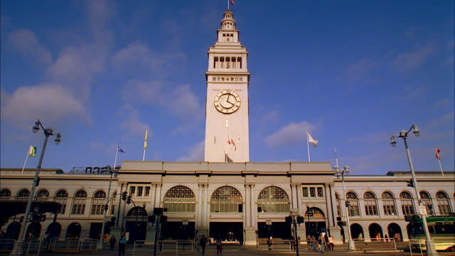 MS, Ferry Building, San Francisco, California, USA