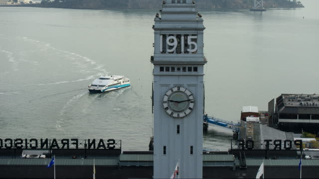 ferry building - san francisco ferry building stock videos & royalty-free footage