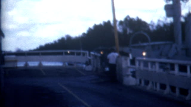 ferry exit 1970 - river mississippi stock videos & royalty-free footage