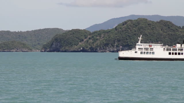 Ferry from Surat Thani to Koh Samui.