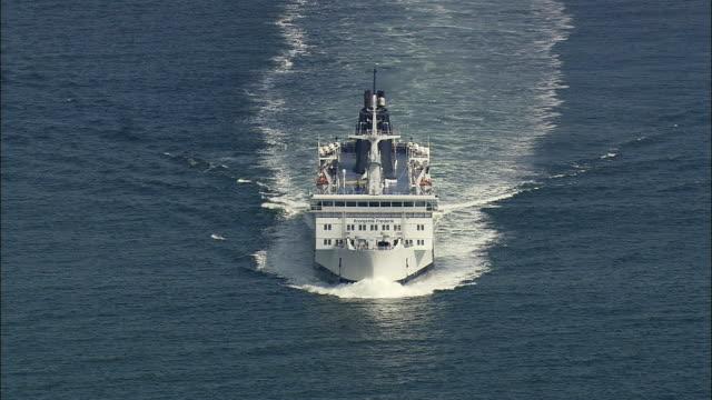 WS HA Ferry on sea, Rostock, Mecklenburg-West Pomerania, Germany