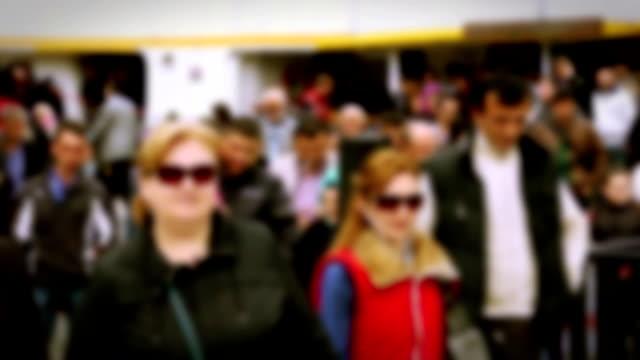 ferry passengers slow motion - blurred motion bildbanksvideor och videomaterial från bakom kulisserna