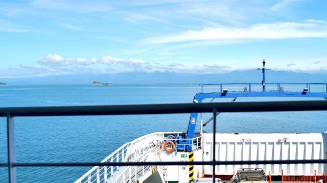 ferry, puntarenas province, costa rica - puntarenas province stock videos & royalty-free footage