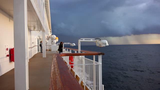 ferry ship color magic on baltic sea, norway, scandinavia, europe - tre fjärdedels längd bildbanksvideor och videomaterial från bakom kulisserna