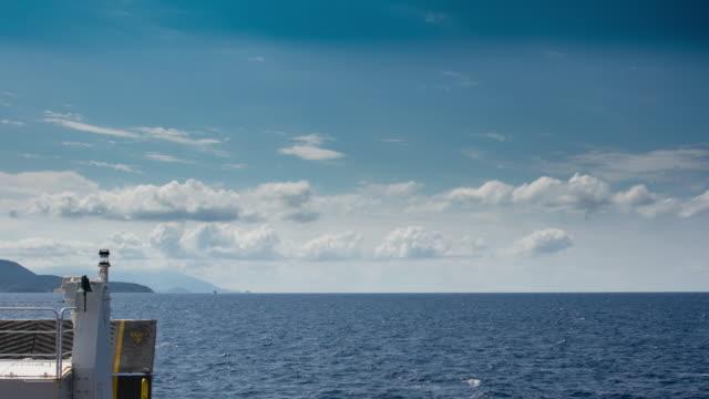 ferry trip - island of elba stock videos & royalty-free footage