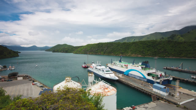 time lapse : ferry - ferry stock videos & royalty-free footage