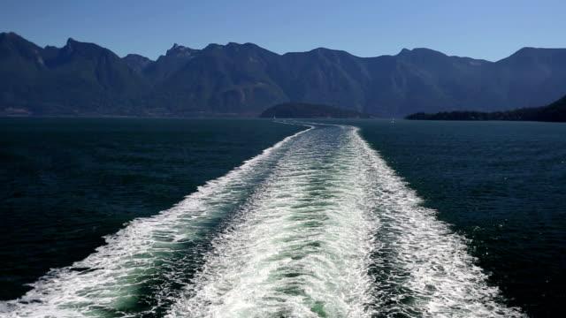 Ferry Wake Horseshoe Bay West Vancouver