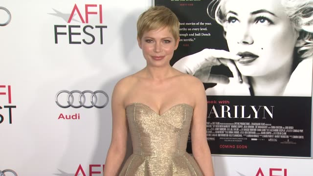 fest 2011 gala screening of my week with marilyn los angeles ca united states 11/6/11 - montaggio di evento video stock e b–roll