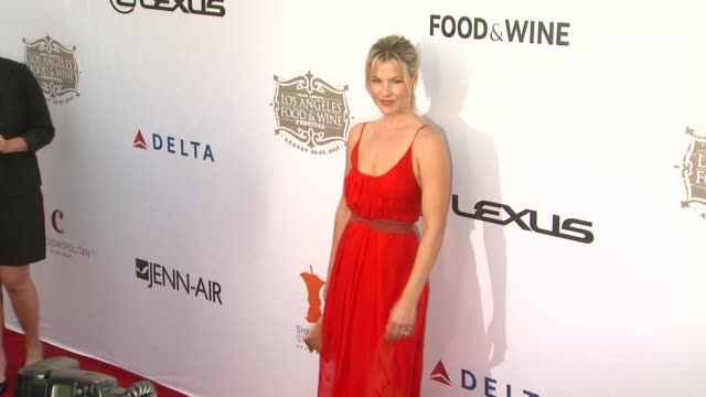 clean festa italiana opening night celebration of the 3rd annual los angeles food wine festival los angeles ca united states 8/22/13 - ali larter stock videos and b-roll footage