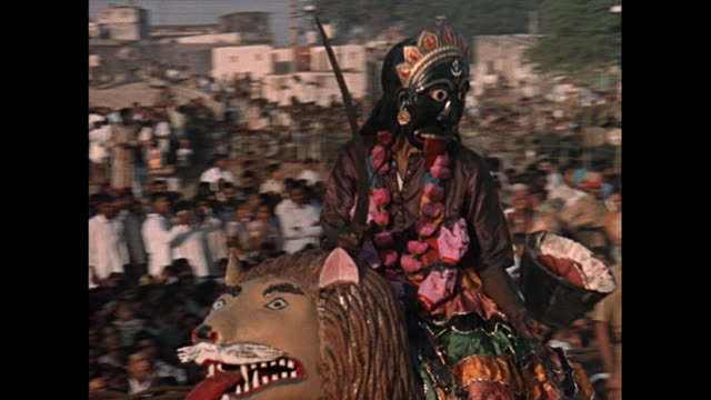 MONTAGE Festival celebrations and procession in Delhi / India