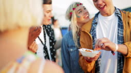 Festival Food With Friends