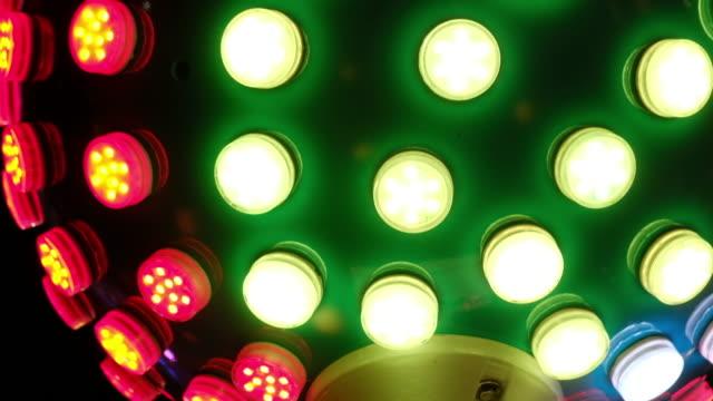 festival light - kasino stock-videos und b-roll-filmmaterial