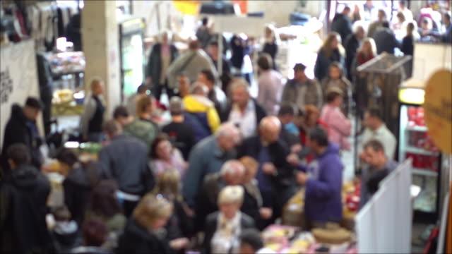 vídeos y material grabado en eventos de stock de festival de comida - feria agrícola