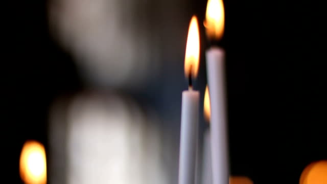 festive candles - religion stock videos & royalty-free footage