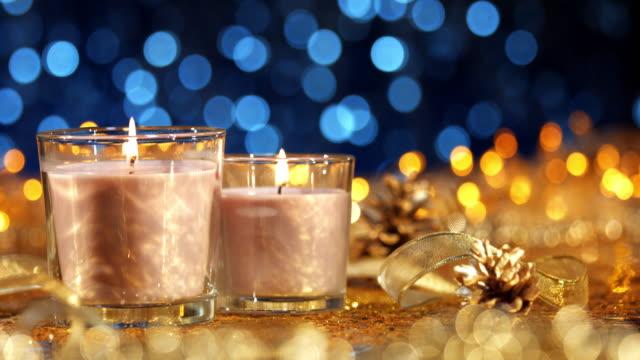 vidéos et rushes de saison de noël festif - spirituality