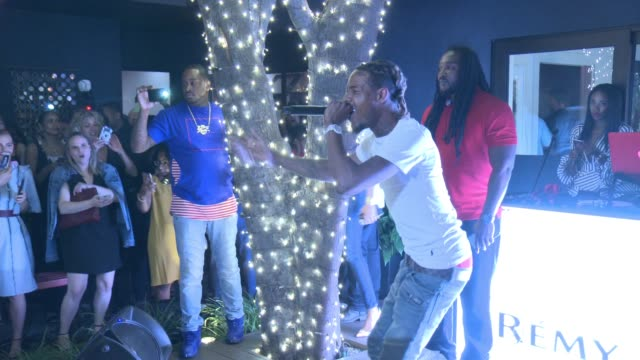 fetty wap at rémy martin hosts a special evening with jeremy renner and fetty wap celebrating the exceptional in los angeles, ca 6/15/17 - wap stock videos & royalty-free footage