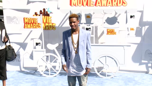 fetty wap at the 2015 mtv movie awards at nokia theatre l.a. live on april 12, 2015 in los angeles, california. - wap stock videos & royalty-free footage