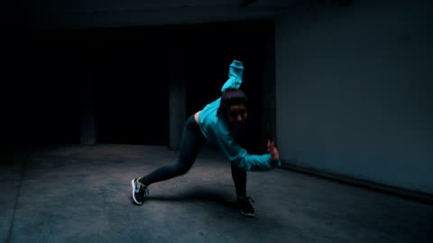 few dancers performing their moves - activity stock videos & royalty-free footage