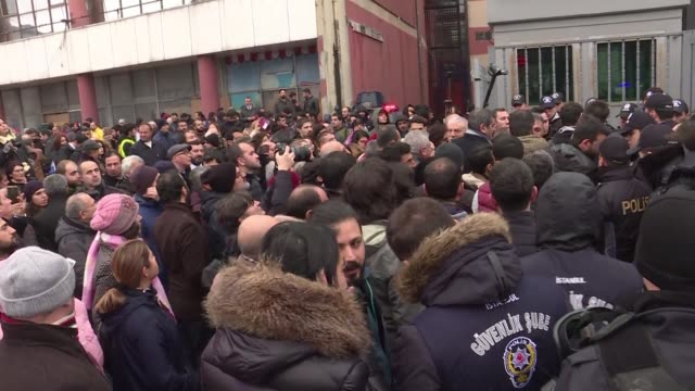 few dozen of people gather outside court where the trial is beginning of two dozen workers who were arrested after they protested poor working... - dozen stock videos & royalty-free footage