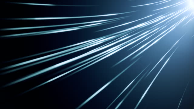 fiber optic abstract background (loopable) - digital animation stock videos & royalty-free footage