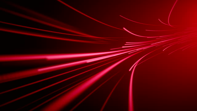 fiber optic background (loopable) - red stock videos & royalty-free footage