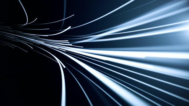 fiber optic background (loopable) - telephone line stock videos and b-roll footage