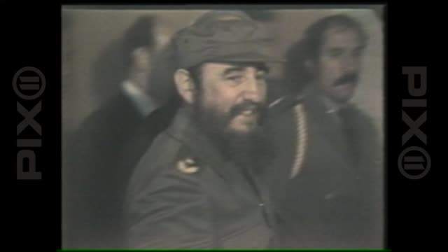 Fidel Castro's Visit to New York where he addressed the United Nations General Assembly on October 12th 1979 in New York New York