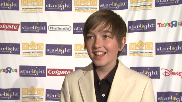 Field Cate on the event how children help other children at the Starlight Children's Foundation's Annual 'A Stellar Night' Gala at Los Angeles CA