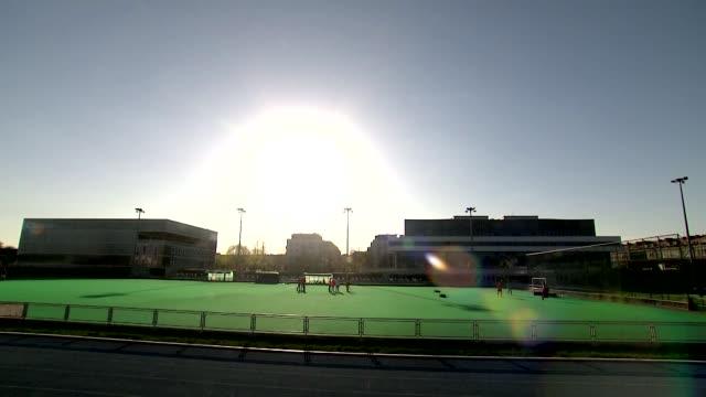 stockvideo's en b-roll-footage met field hockey pitch - spelkandidaat