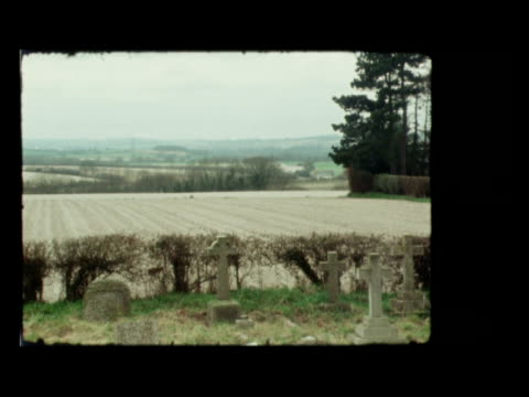 field marshal montgomery funeral b hampshire ext lms procession into churchyard ms coffin of field marshal bernard montgomery carried rl lms coffin... - cap stock videos & royalty-free footage