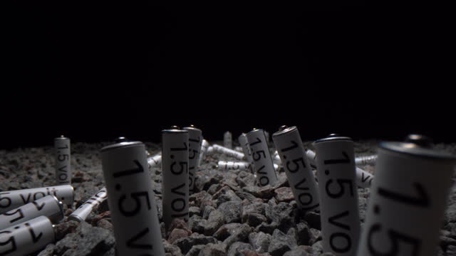 field of batteries - cylinder stock videos & royalty-free footage