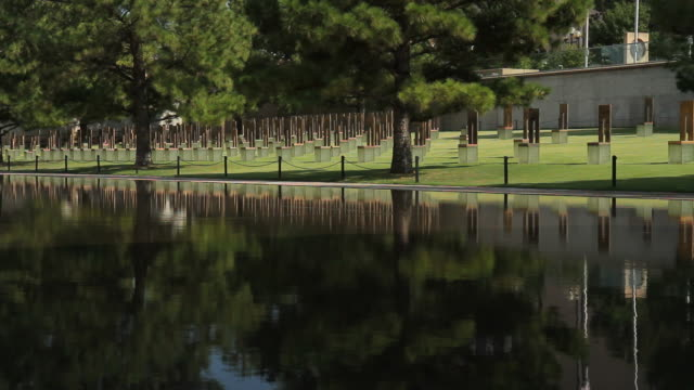 Field of Empty Chairs at the OKC Bombing Memorial