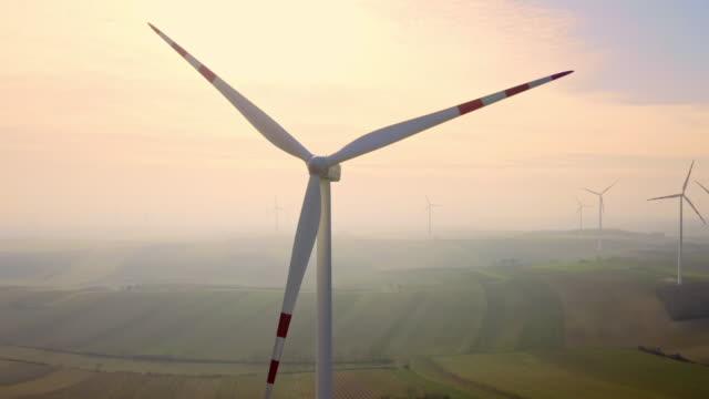 AERIAL Bereich Windenergieanlagen
