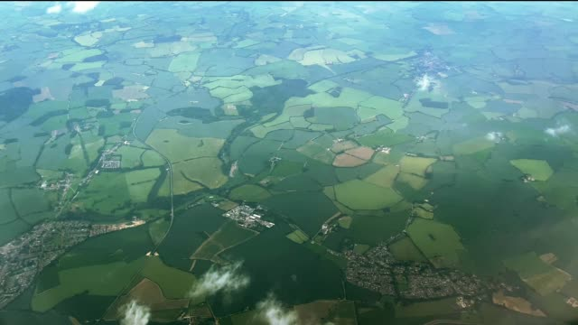 fields aerial view - geographical locations stock videos & royalty-free footage
