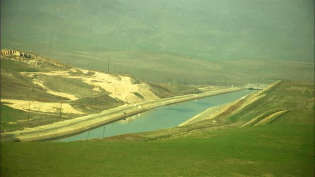 WS, HA, Fields and river near San Francisco, California USA