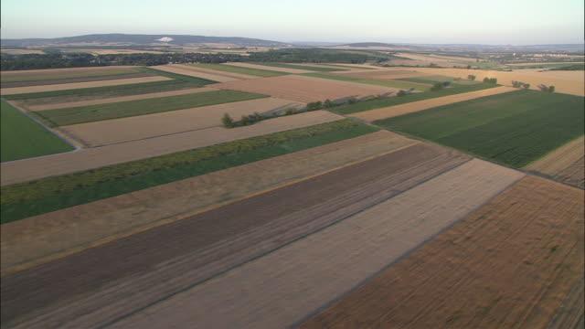 AERIAL Fields in Lower Austria, Austria