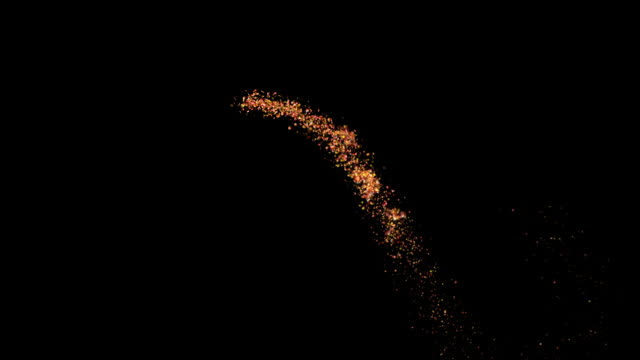 fiery glitter sparkle particle trail - fairy stock videos & royalty-free footage