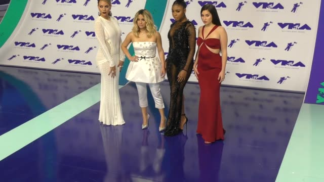 fifth harmony at the 2017 mtv video music awards at the forum on august 27 2017 in inglewood california - inglewood video stock e b–roll