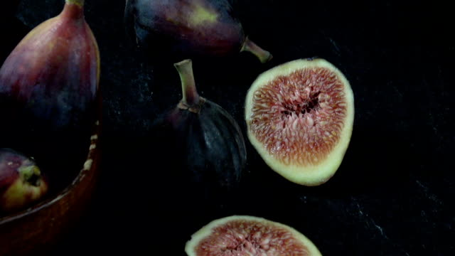 fig background - slice stock videos and b-roll footage