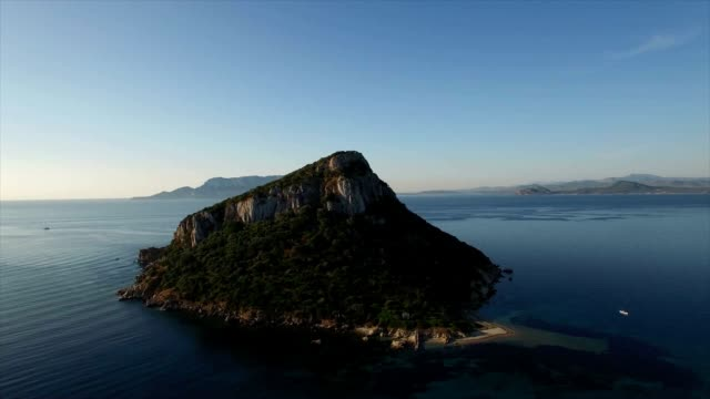 figarolo island, sardinia, italy - eco tourism video stock e b–roll