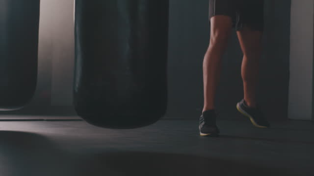 fight your way right into fit - kickboxing stock videos & royalty-free footage